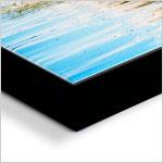 Black Edge canvas