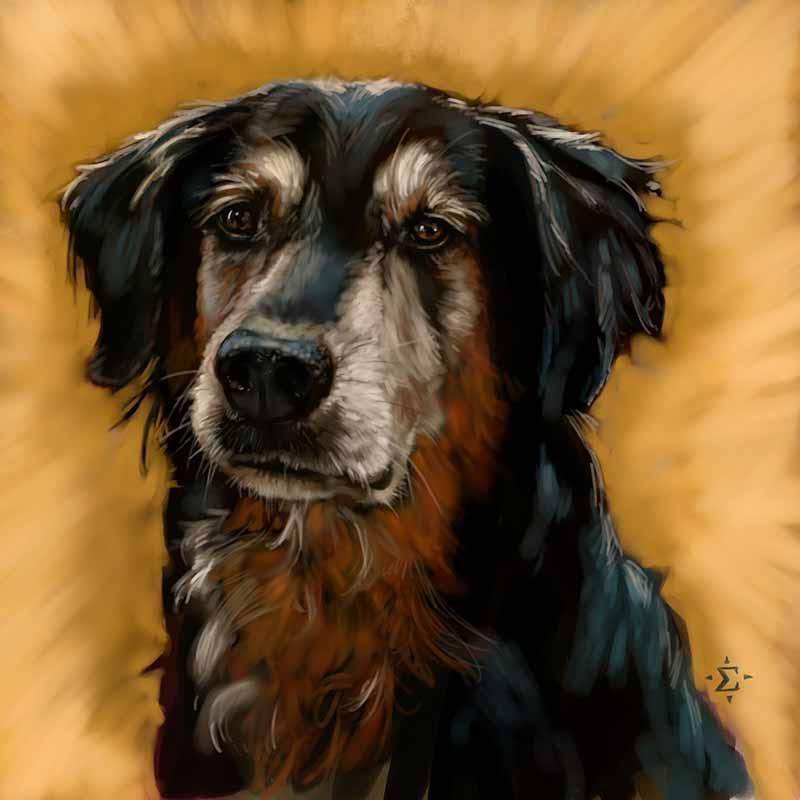 Larry portrait