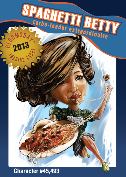 Bloomsday Trading Card Spaghetti Betty