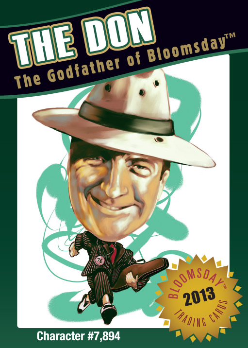Bloomsday Trading Card The Don