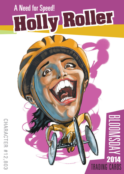 Bloomsday Trading Card Holly Roller
