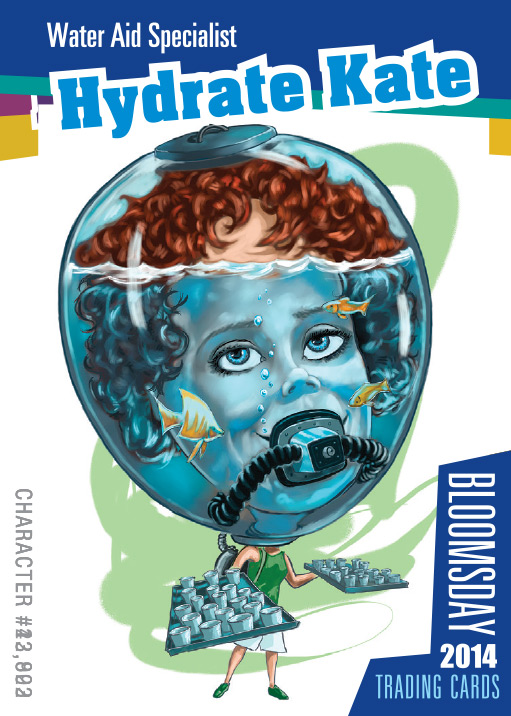 Bloomsday Trading Card Hydrate Kate