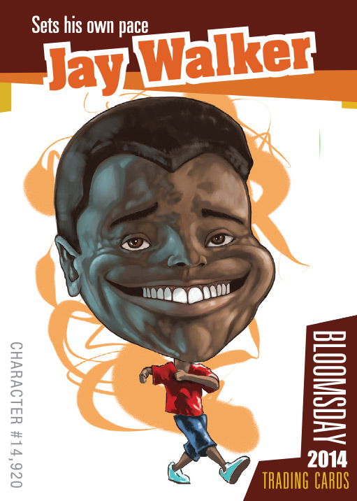 Bloomsday Trading Card Jay Walker