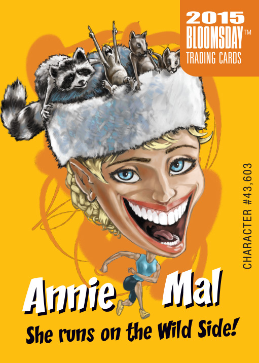 Bloomsday Trading Card Annie Mal