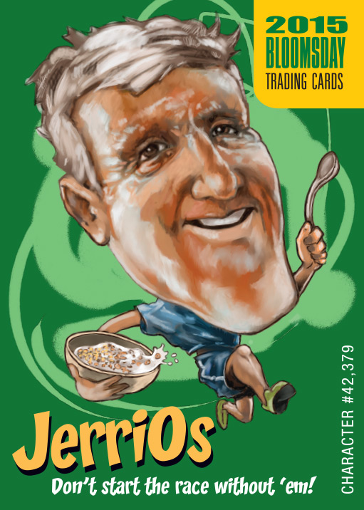 Bloomsday Trading Card Jerry O's