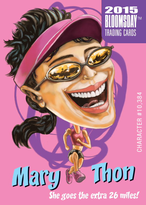 Bloomsday Trading Card Mary Thon