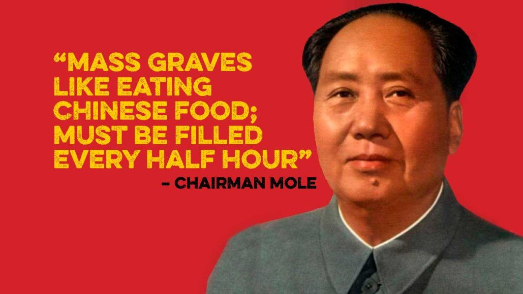 Mao and mass graves