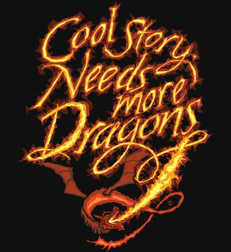 more dragons shirt