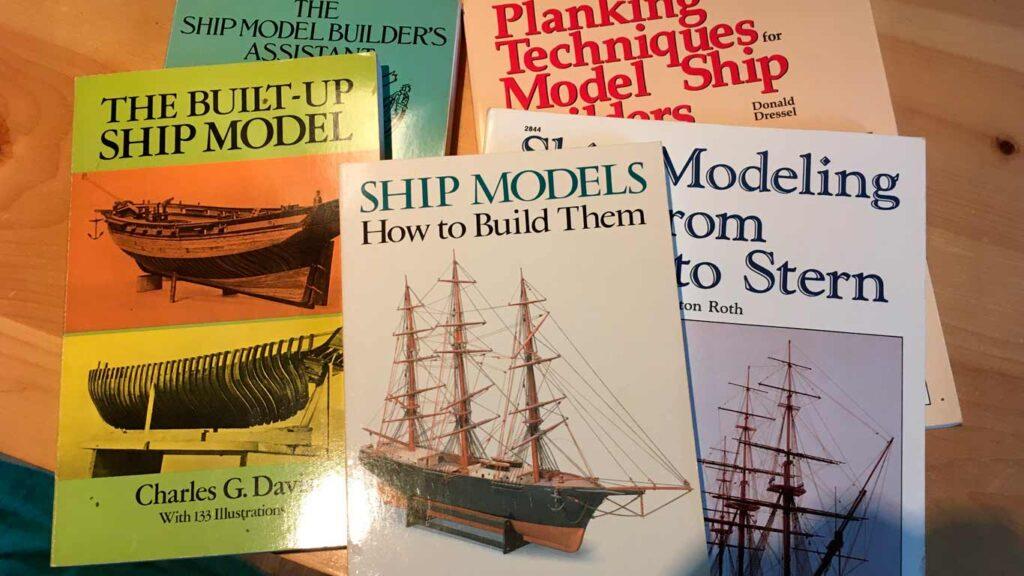 ship modeling books