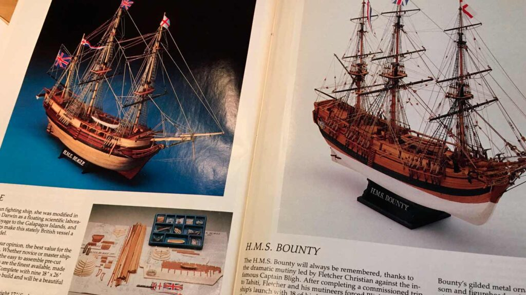 ship modeling catalog