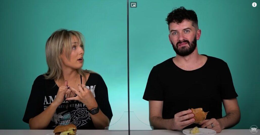 Irish People Try American Burgers
