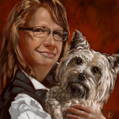 bentley portrait