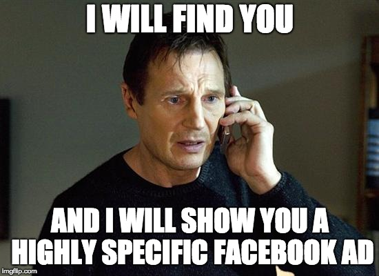 social media spies on you