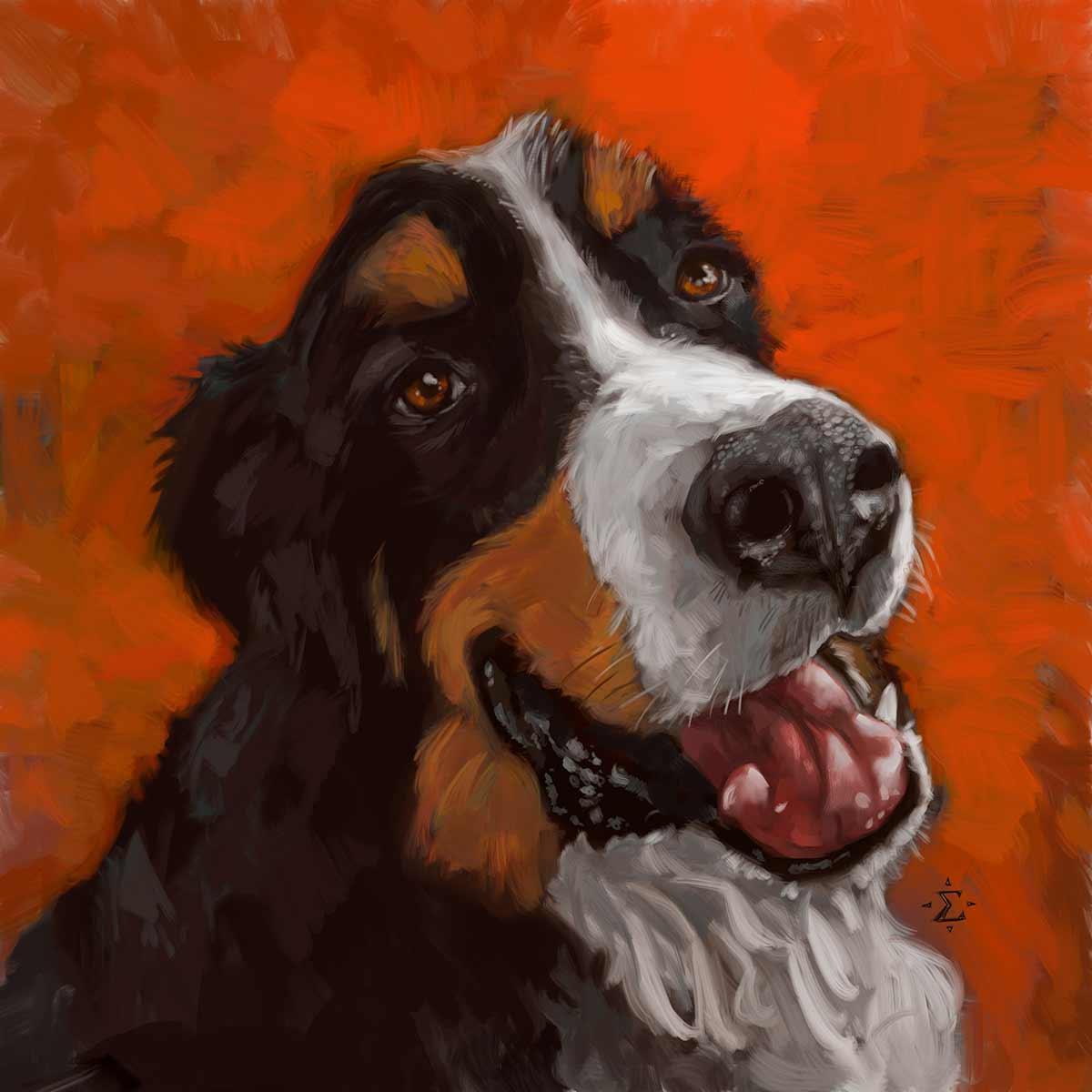 Smilin' Beorn portrait